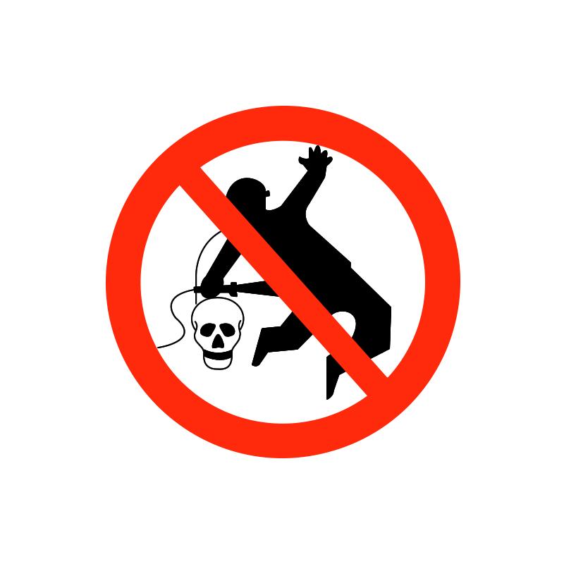Rengøring af tøj med trykluft forbudt