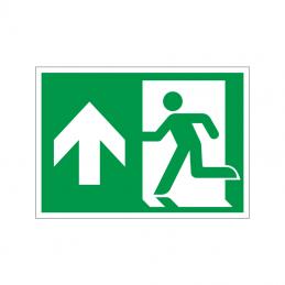 Flugtvej / nødudgang venstre og op