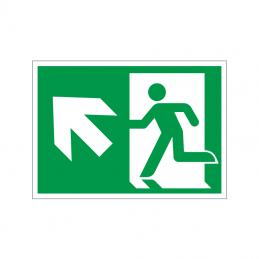 Flugtvej / nødudgang til venstre og op