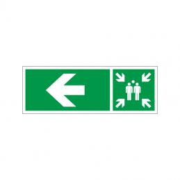 Samlingspunkt til venstre