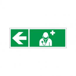 Læge mod venstre