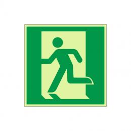 Flugtvej / nødudgang mod venstre