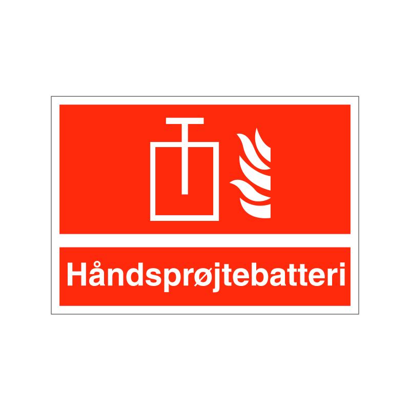 Håndsprøjtebatteri