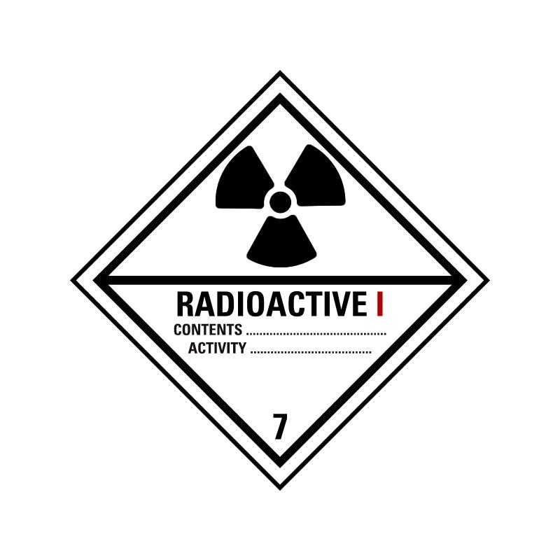 Radioaktive stoffer kat. 1