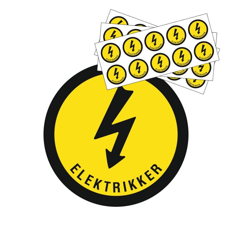 Hjelmmærke - Elektrikker