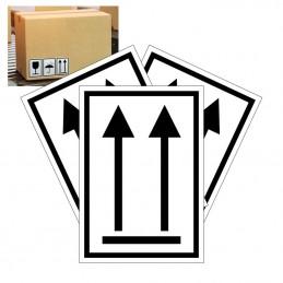 emballagemærke denne side op
