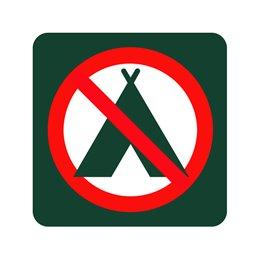 naturstyrelsen - campering forbudt