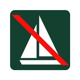 naturstyrelsen - sejlads forbudt