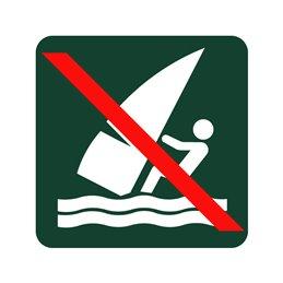 naturstyrelsen - windsurfing forbudt