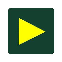 naturstyrelsen - retningspil gul