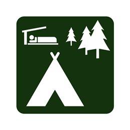 naturstyrelsen - Lejrplads med shelter