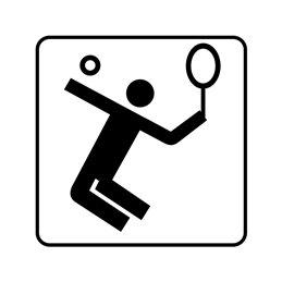 pictogram - tennisbane
