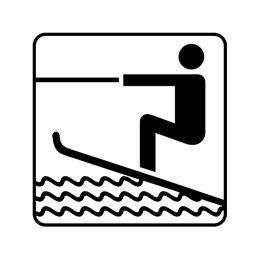 pictogram - vandski
