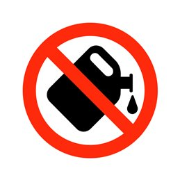 pictogram - Benzinpåfyldning forbudt