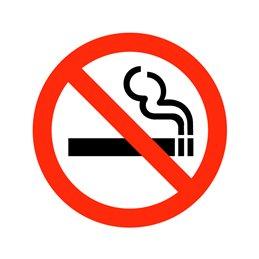 pictogram - rygning forbudt