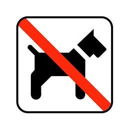 pictogram - hund ikke tilladt