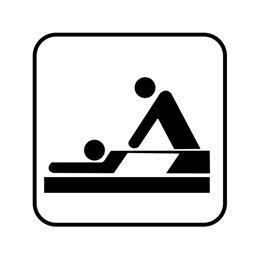 pictogram/piktogram - massage