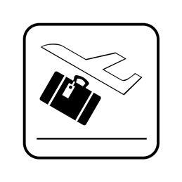 pictogram/piktogram - Bagage check-in