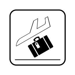 pictogram/piktogram - Bagage udlevering