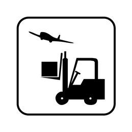 pictogram/piktogram - Luftfragt