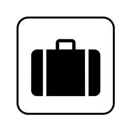 pictogram/piktogram - bagage