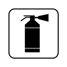 pictogram / piktogram - Brandslukker