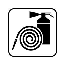 pictogram / piktogram - Brandslukningsudstyr