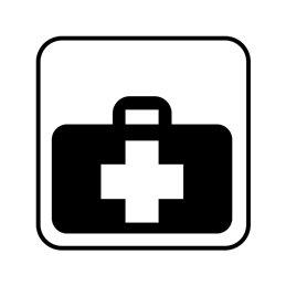 pictogram / piktogram - Førstehjælpstaske
