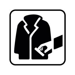 pictogram / piktogram - Pas på lomme- / tasketyve