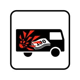 pictogram / piktogram - Værditransportkøretøj