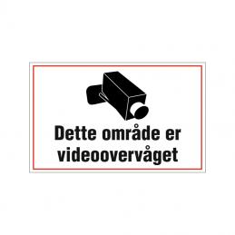 Dette område er videoovervåget
