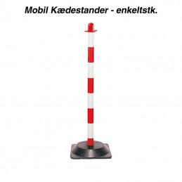 kædestander - mobil - rød/hvid