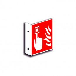 Brandalarm faneskilt