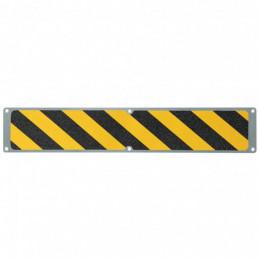 Aluplade med m2 Hazard Warning