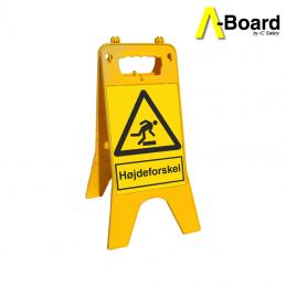 a-board højdeforskel