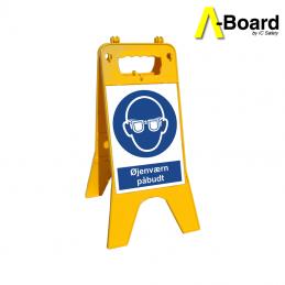 a-board øjenværn påbudt