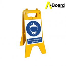 a-board åndedrætsværn påbudt