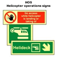 HOS | Helicopter operation signs