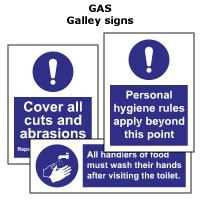 GAS | Galley signs