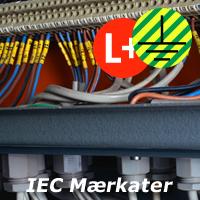 IEC Mærkater