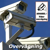 Overvågningsskilte